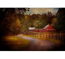 Farm - Barn - Rural Journeys  Photographic Print