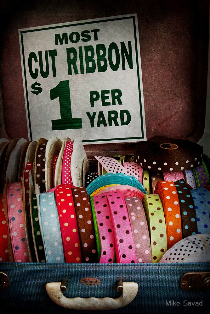 Sewing - Ribbon by the yard by Mike  Savad
