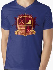 Monty Python Crest Mens V-Neck T-Shirt