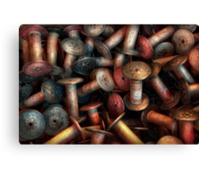 Sewing - Spools  Canvas Print