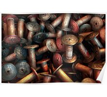 Sewing - Spools  Poster