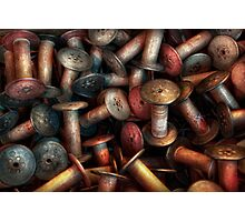 Sewing - Spools  Photographic Print
