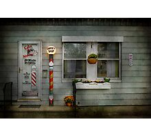Barber - Belvidere, NJ - A Family Salon Photographic Print