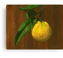 Ready for picking , not ready for rhyming... Canvas Print