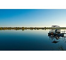 Sunrise at Caprivi strip Photographic Print