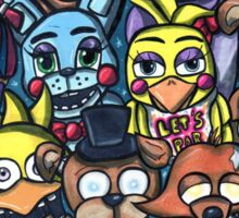 Fnaf Characters Sticker