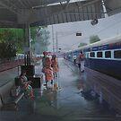 wet platform by biswaal