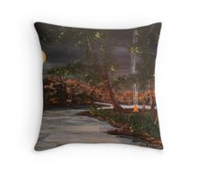 Picnic Point Summer Throw Pillow