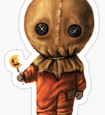 Sam Trick 'R Treat Halloween Sticker
