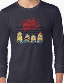 The Banana Funny Unusual Suspects Long Sleeve T-Shirt