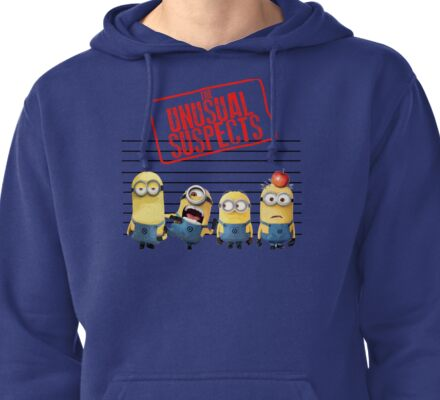 The Banana Funny Unusual Suspects Pullover Hoodie