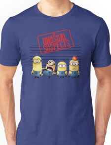 The Banana Funny Unusual Suspects Unisex T-Shirt