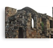 Ruins of Mughal Dynasty Canvas Print