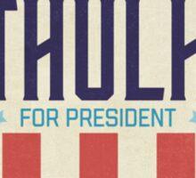 Cthulhu for President 2016 Sticker