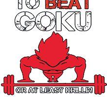 Train To Beat GOKU by Shabiya