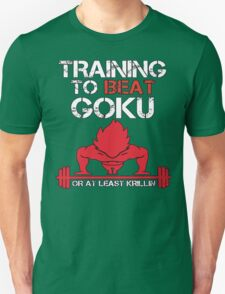 Train To Beat GOKU T-Shirt