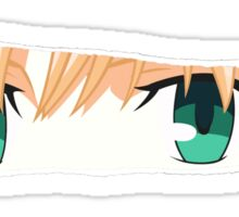 fate zero saber anime manga shirt Sticker
