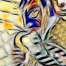 Jazz Trio translation - detail #2 by Gili Orr