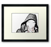 The Gimp Framed Print