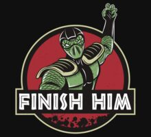 Finish Him Baby Tee
