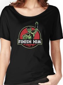 Finish Him Women's Relaxed Fit T-Shirt