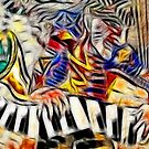 Jazz Trio translation - detail #3 by Gili Orr