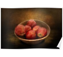 Food - Apples - A bowl of apples  Poster
