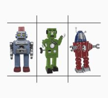 Retro Toy Robots by Gidget26
