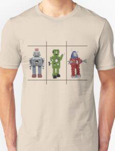 Retro Toy Robots Unisex T-Shirt