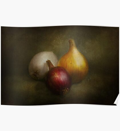 Food - Onions - Onions  Poster