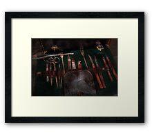 Doctor - Civil war instruments Framed Print