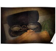 Optometrist - Glasses for Reading  Poster