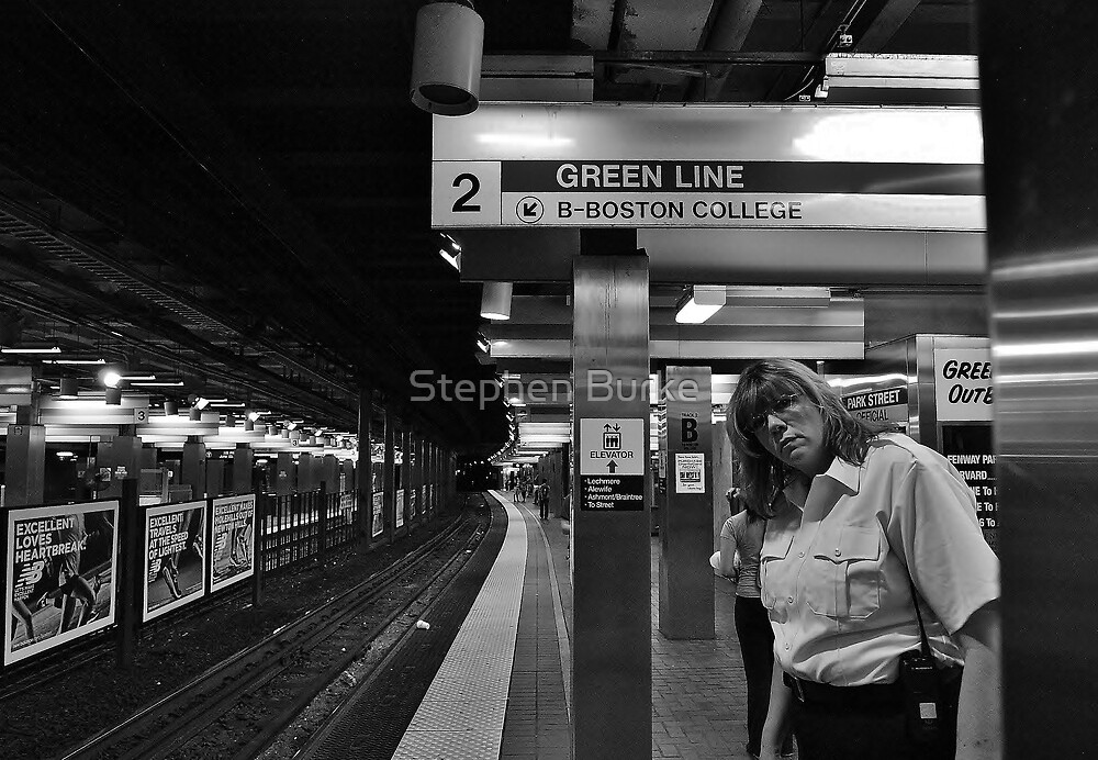 Subway Security by Stephen Burke