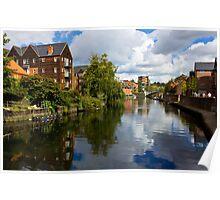 Norwich Riverside Poster