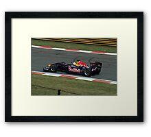 Lap Time (second lap) Framed Print