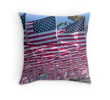 9/11 Tribute Throw Pillow