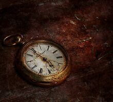 Clock - Time waits by Mike  Savad
