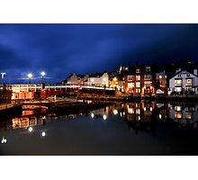 Whitby Swing Bridge Photographic Print