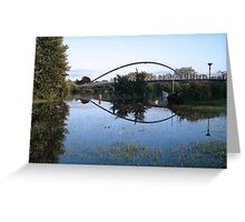 Summer Flood Greeting Card