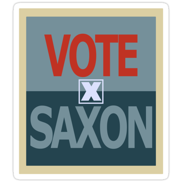 Vote Saxon by flaminska