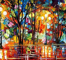 EXPECTATION OF LOVE - LEONID AFREMOV by Leonid  Afremov