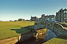 Golf's Old Course, St Andrews, Scotland by David Alexander Elder