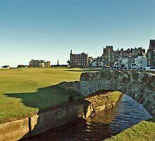 Golf's Old Course, St Andrews, Scotland by David Alexander Elder