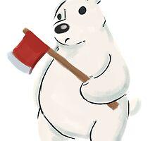 Septembear: Ice Bear by crunchydomfam