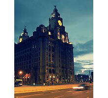 Liver Building, Liverpool Photographic Print