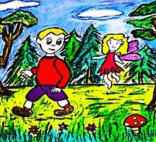 A Fairy Forest Walk by Monica Engeler