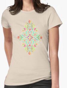 Soft Neon Pastel Boho Pattern T-Shirt