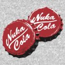 Nuka Cola Bottle Caps by Adho1982