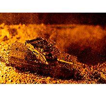 Blast On The Desert Photographic Print