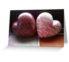 Two hearts are better than one! Greeting Card